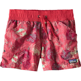 Patagonia Girls Costa Rica Baggies Shorts Dropdot: Cerise